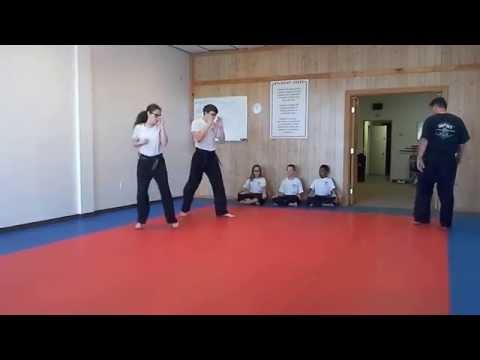 Hampton's Karate Academy - Footwork Drills 03