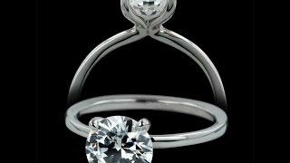Sholt Designer Diamond Solitaire Engagement Ring - 28ZZ1