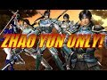 Warriors Orochi 3 Zhao Yun Only Challenge
