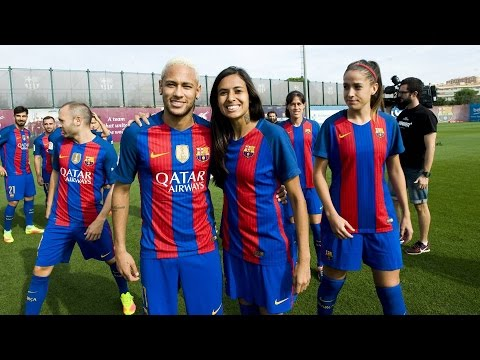 Barça And Barça: Men's Team And Women's Team Stronger Together!