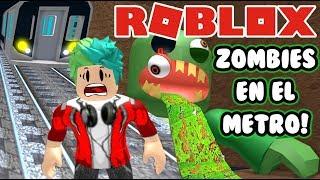 Video Zombies en el Metro | Escape The Subway Roblox | Juegos Roblox para niños MP3, 3GP, MP4, WEBM, AVI, FLV September 2019