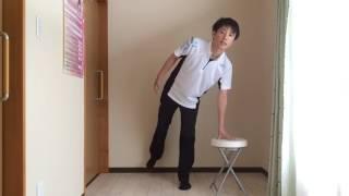 膝の割れを防ぐ股関節回転トレーニング