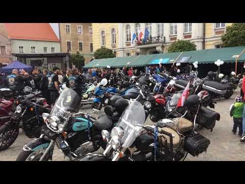 Wideo1: MotoKrew na wschowskim Rynku