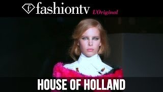 House Of Holland Fall/Winter 2014-15 | London Fashion Week LFW | FashionTV