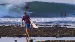 Parker Coffin Bali Surf Journey with JVC Adixxion!
