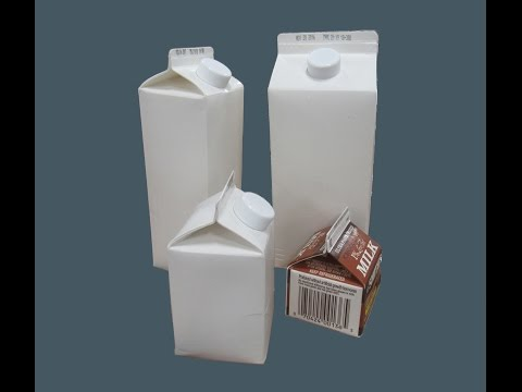2-EZHS DP Case Packing Half Gallon Gable Top Carton with Spout