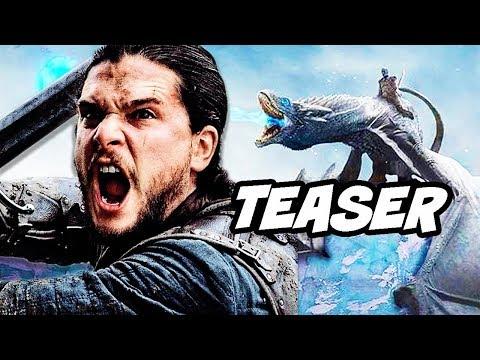 Game Of Thrones Season 8 Episode 1 Teaser - BTS and Winterfell Secrets Breakdown