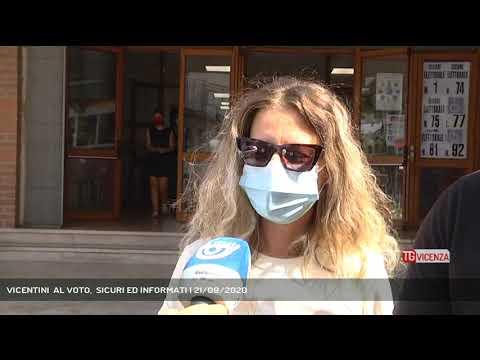 VICENTINI  AL VOTO,  SICURI ED INFORMATI | 21/09/2020