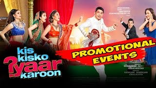 Kis Kis Ko Pyaar Karu Movie  2015    Kapil Sharma  Elli Avram   Uncut Promotional Events