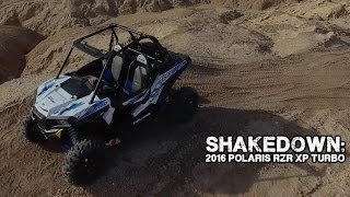 6. SHAKEDOWN: 2016 Polaris RZR XP Turbo