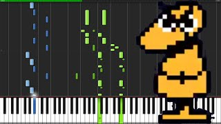Dummy! - Undertale [Piano Tutorial]