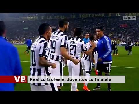 Real cu trofeele, Juventus cu finalele