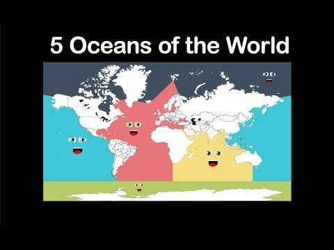5 Oceans Song/5 Oceans of the World/5 Oceans of the World for Kids/5 Oceans of the World Children
