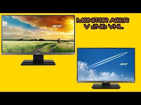 Monitor Gamer Acer LED Full HD 24 Polegadas V246HL