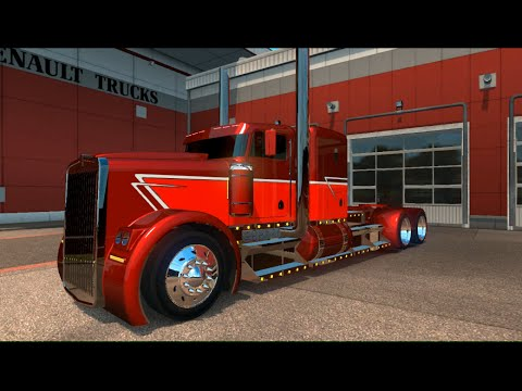 Kenworth Phantom v1.0 + Phantom Trailer + Template