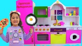 Masal & Öykü Pretend Play with DELUXE Kitchen Toy Set - fun Kids video
