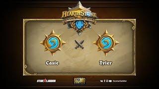 Casie vs Tyler, game 1