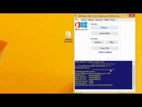 KMSAuto Net 1.0.5  Active Windows 8.1 and Office