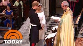 Video Royal Wedding: Prince Harry, Meghan Markle Exchange Vows   TODAY MP3, 3GP, MP4, WEBM, AVI, FLV Oktober 2018