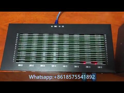GSM modem bulk sms sender machine