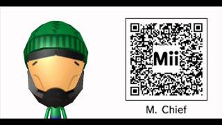 Halo Miis for your 3DS