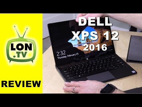 Dell XPS 12 2016 Review - 12.5