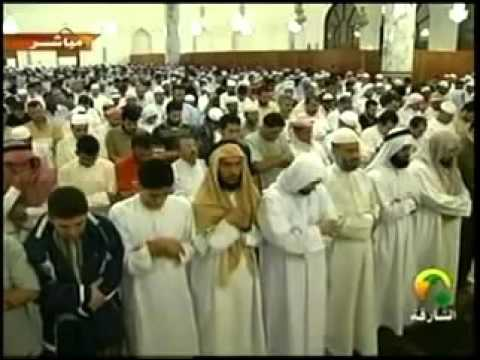 Salah Bukhatir leading full Taraweeh in Ash Shāriqah:  As-Salamu AlaykumThis is Shaykh Salah Bukhatir leading full Taraweeh prayer in Ash Shāriqah UAE. Also included is his dua.A wonderful Taraweeh by Imam Salah Bukhatir who is Ahmed Bukhatir brother, a family of  spectacular voices.Sorry about the audio-video sync issue, this was very difficult to find,i will Insha'Allah try to fix this.Please Like, Share, Favorite and spread this video and the word Islam.Jazakallah KhayranDisclaimer: I did not flim this video, nor do i own any right that may or may not exist on the video recording.