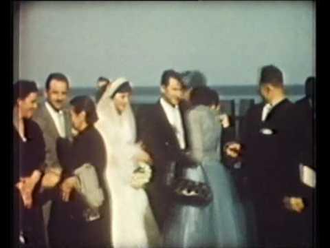 Matrimonio italo-americano 1955