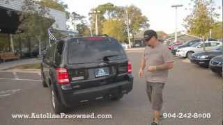Autoline Preowned 2011 Ford Escape XLT For Sale Used Walk Around Review Test Drive Jacksonville