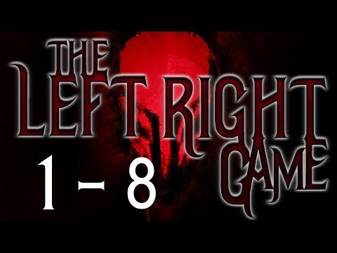 The Left/Right Game: Parts 1 - 8 |  BEST NOSLEEP STORY OF 2017 (Creepypasta Reading)