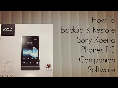 how to recover contacts in xperia p