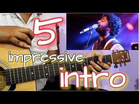 5 Impressive Guitar Intro of Arijit Singh | Super Easy Guitar Lesson