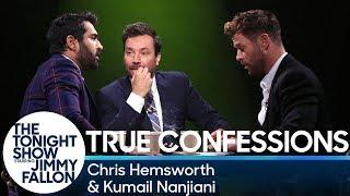 Video True Confessions with Chris Hemsworth and Kumail Nanjiani MP3, 3GP, MP4, WEBM, AVI, FLV Agustus 2019