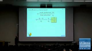 Thermodynamics and Chemical Dynamics 131C. Lecture 13. The Carnot Cycle.
