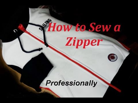 Video ✂ How  to Sew a Zipper. Sweatshirt.  Sewing Course. ✂ Jak wszyć zamek błyskawiczny /ekspres do bluzy download in MP3, 3GP, MP4, WEBM, AVI, FLV January 2017