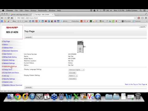 How To Setup Inbound Routing or Fax Forwarding on Sharp Fax / Copier / Printer / Scanner