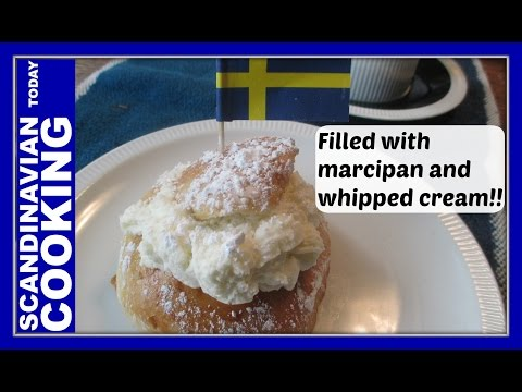 Semla – How To Make Swedish Semlor Buns – Fastlagsbulle