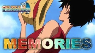 One Piece Romance Dawn - 3DS - Memories (Trailer)