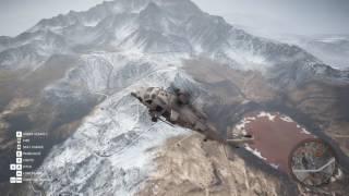 Ghost Recon  Wildlands Highest Parachute Drop 1080p