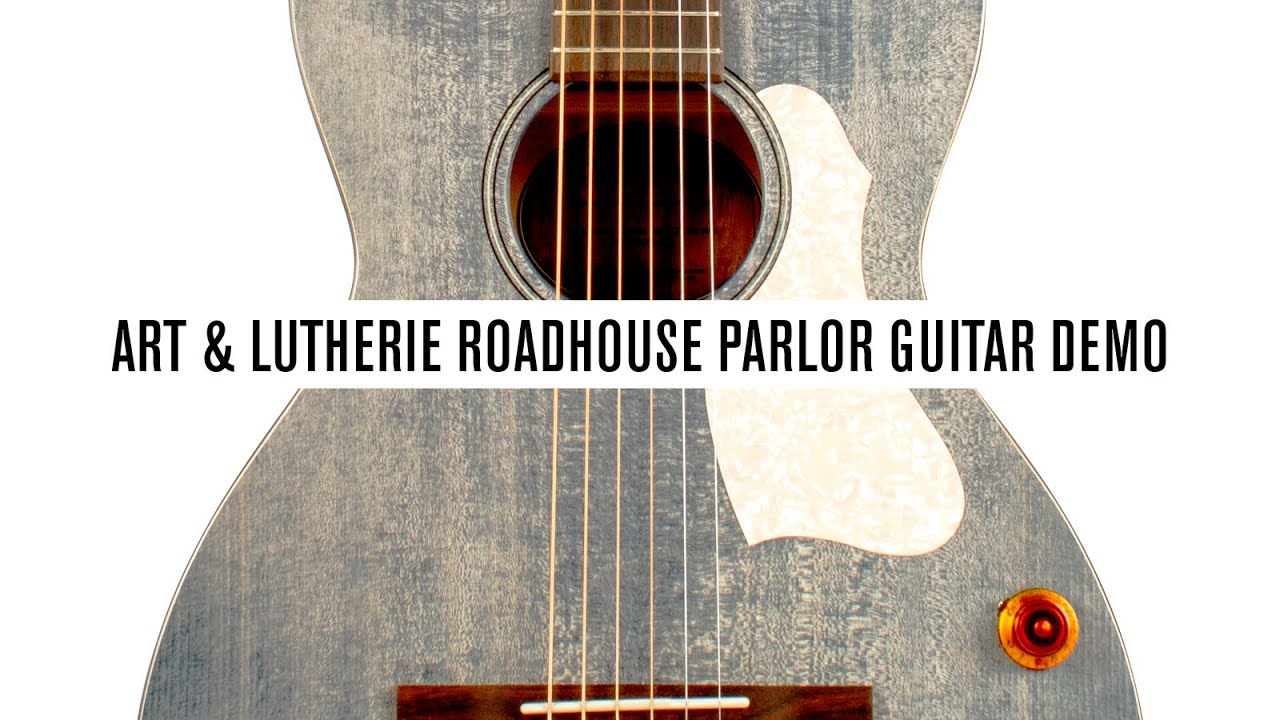 Art & Lutherie Roadhouse Q Discrete Parlor Guitar: Acoustic Guitar Review