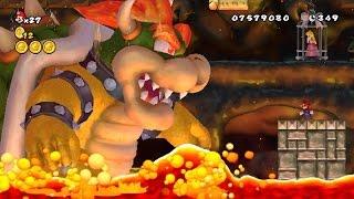 New Super Mario Bros Series - All Bowser Boss Battles