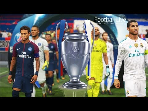 PES 2018 | UEFA Champions League Final | Real Madrid Vs PSG | Gameplay PC