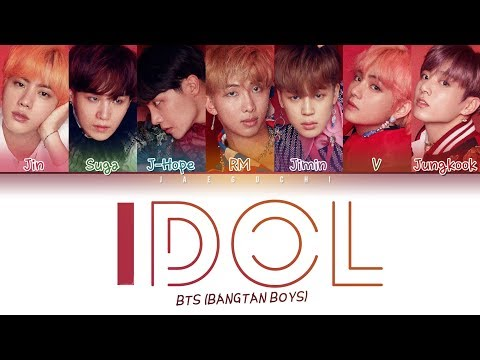 BTS (방탄소년단) - IDOL (Color Coded Lyrics Eng/Rom/Han/가사)