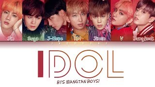 Video BTS (방탄소년단) - IDOL (Color Coded Lyrics Eng/Rom/Han/가사) MP3, 3GP, MP4, WEBM, AVI, FLV Maret 2019
