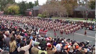 USC Trojan Marching Band - 2017 Pasadena Rose Parade