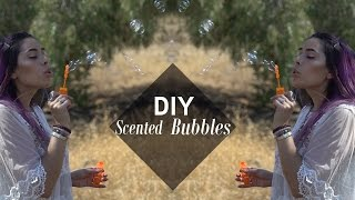 Scented bubbles - DIY by Tiffyquake