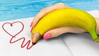 Video 10 DIY Weird Summer School Supplies You Need To Try / Funny Pranks! MP3, 3GP, MP4, WEBM, AVI, FLV Juni 2018