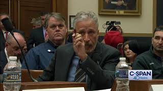 Video Jon Stewart Opening Statement on 9/11 Victim Compensation Fund (C-SPAN) MP3, 3GP, MP4, WEBM, AVI, FLV Juni 2019