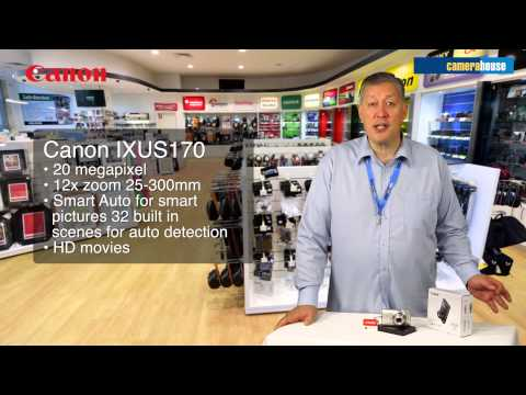 Camera House Review - Canon IXUS 170 Digital Compact Camera