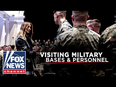 Preview: Hannity joins Melania Trump's military base tour